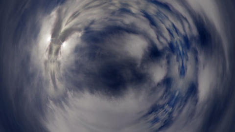 Circular Timelapse Stock Video Footage