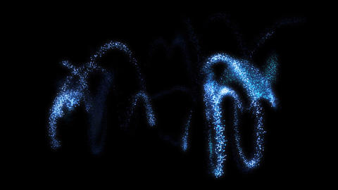 Spiral Particles : VJ Loop HD 378 Stock Video Footage