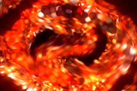 3D Spiral : VJ Loop 331 Stock Video Footage