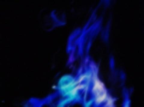 Smoke Blue & Green : VJLoop 372 Stock Video Footage