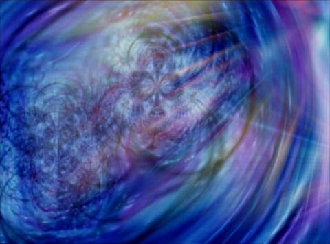 Psychedelic : VJ Loop 028 Stock Video Footage