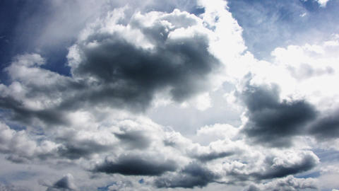 The Sky and clouds Stock Video Footage