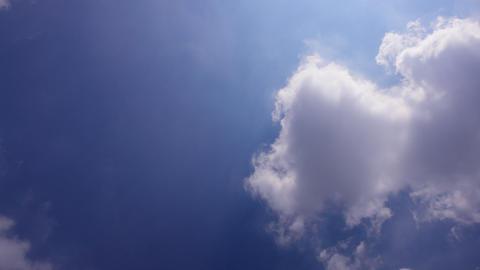 Sky Cloud 110809 A 2 HD Footage
