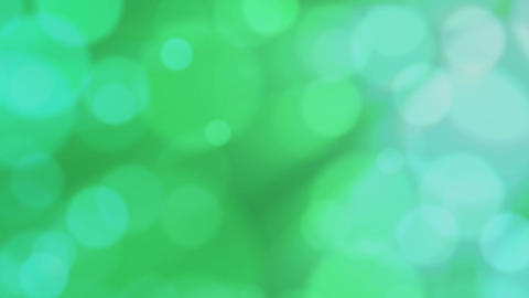 Green defocused bubbles Stock Video Footage