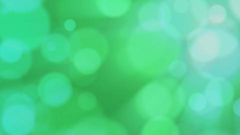 Green defocused bubbles Stock Video Footage