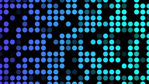 Blue shade dots Stock Video Footage