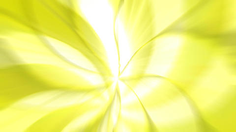 Abstract yellow patterns swirling Stock Video Footage