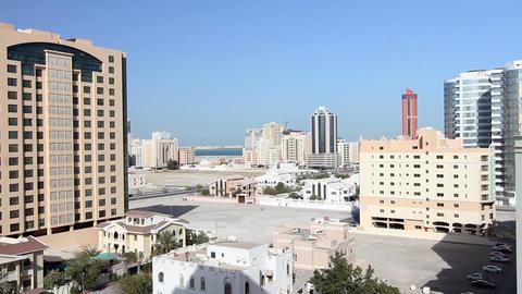 ordinary bahrain streets Stock Video Footage