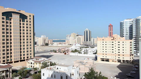 ordinary bahrain streets Stock Video Footage