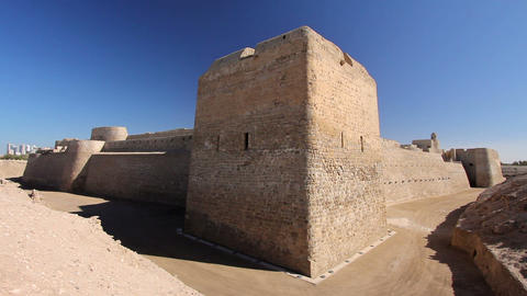 Qal'at al-Bahrain fort Footage