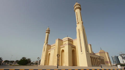 Bahrain Al Fateh Grand Mosque Footage