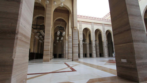 Bahrain Al Fateh Grand Mosque Stock Video Footage