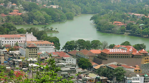 Kandy, Sri Lanka Stock Video Footage