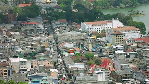 Kandy, Sri Lanka, timelapse Stock Video Footage