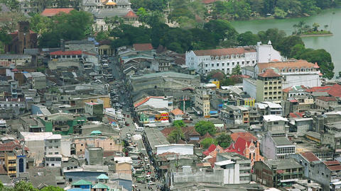 Kandy, Sri Lanka, timelapse Footage