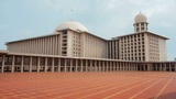 istiqlal mosque, jakarta, indonesia Footage