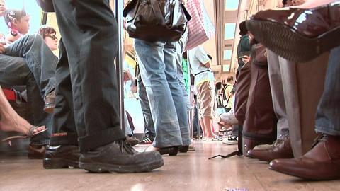 Inside a Subway Train, Singapore Live Action