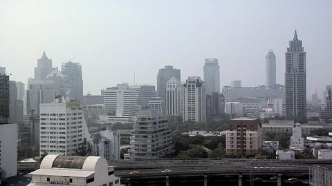 Buildings of Ploenchit District, Bangkok Live Action