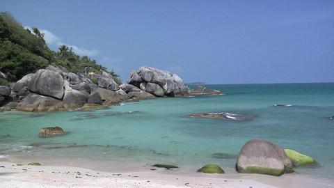 Thong Takhian (Silver) Beach, Koh Samui Live Action