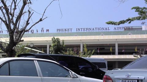 Phuket International Airport Terminal Building Live Action