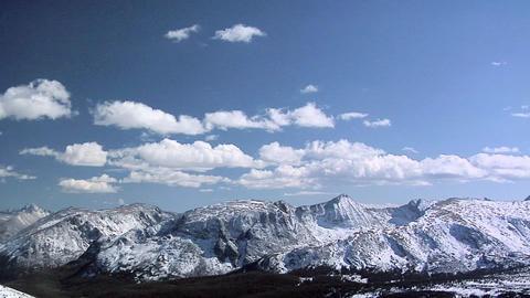Glacier Landscape at the Rocky Mountain National Park Footage