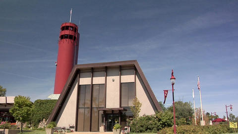 The Observation Tower of the Tower Park with the Village Hall at Peoria Heights Live Action