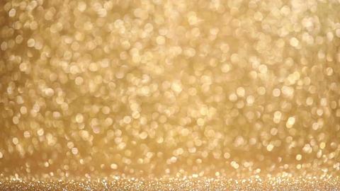Shiny golden lights background Archivo