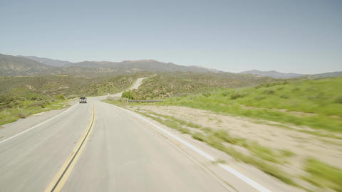 Driving Road Mountains 01 Footage