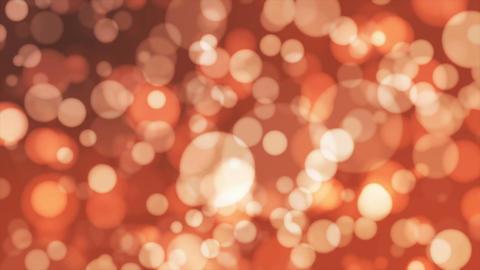 Broadcast Light Bokeh, Orange Brown, Events, Loopable, 4K Animation