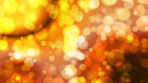 Broadcast Light Bokeh, Golden Orange Brown Yellow, Events, Loopable, 4K Animation