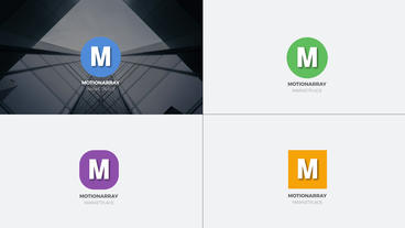 Premier Minimal logo Premiere Pro Template