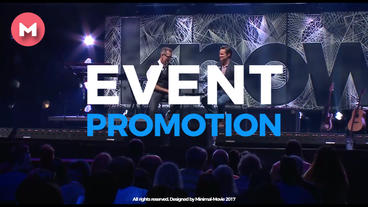 Premier Modern Event Promo MA เทมเพลต Premiere Pro