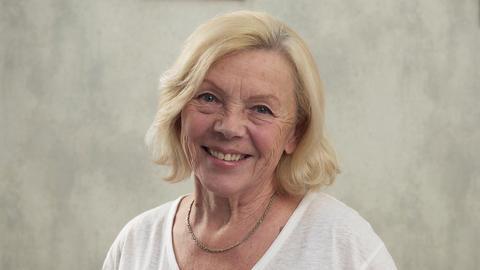 happy elderly woman Live Action