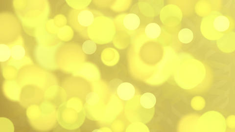 Gold abstract background with bokeh defocused lights. Abstract Golden Holiday Footage