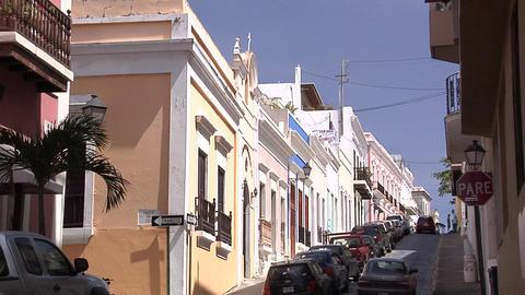 Houses on Calle De La Cruz Live Action