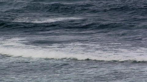 Waves of the Atlantic Ocean Footage