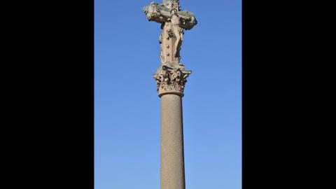 Salamanka Crucifix Footage