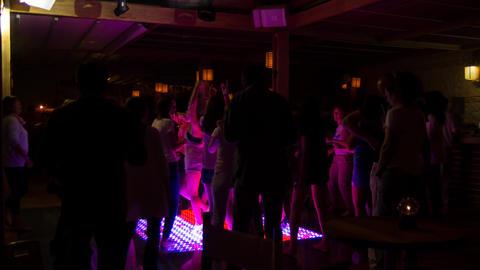 Dance club timelapse Live Action