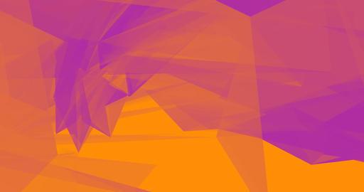 Purple Orange Fashion Glamor Background with Triangle Concept Footage
