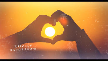 Lovely Slideshow After Effects Template