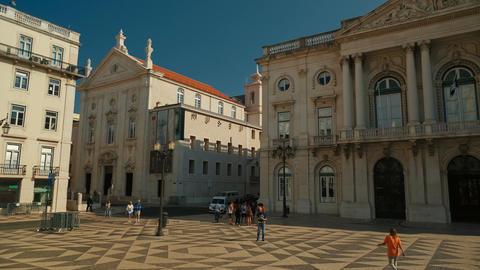 Town Hal, Lisbon, Portugal Footage