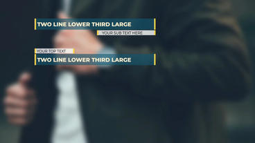 Forward Lower Third After Effects Templates