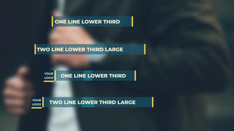 Forward Lower Third After Effects Template