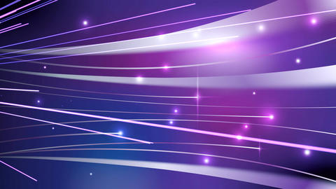 Light streaks on violet abstract background Animation