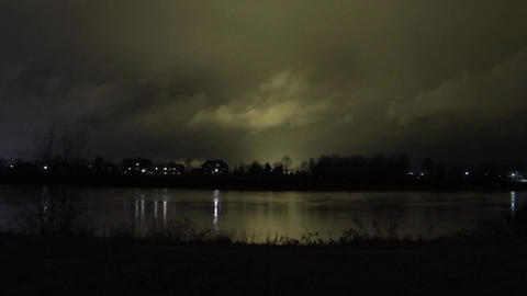 Halloween night time lapse Footage