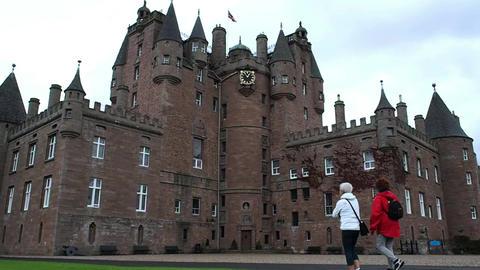 Glamis Castle, Scotland Filmmaterial