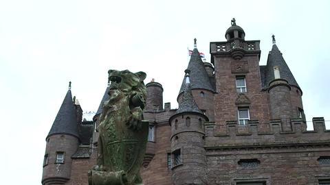 Glamis Castle, Scotland 영상물
