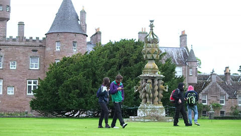 Glamis Castle, Scotland Footage