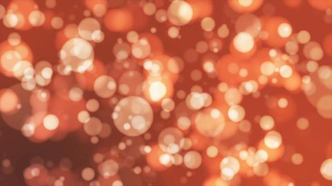 Broadcast Light Bokeh, Orange, Events, Loopable, 4K Animation