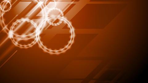Dark orange tech corporate video animation Animation